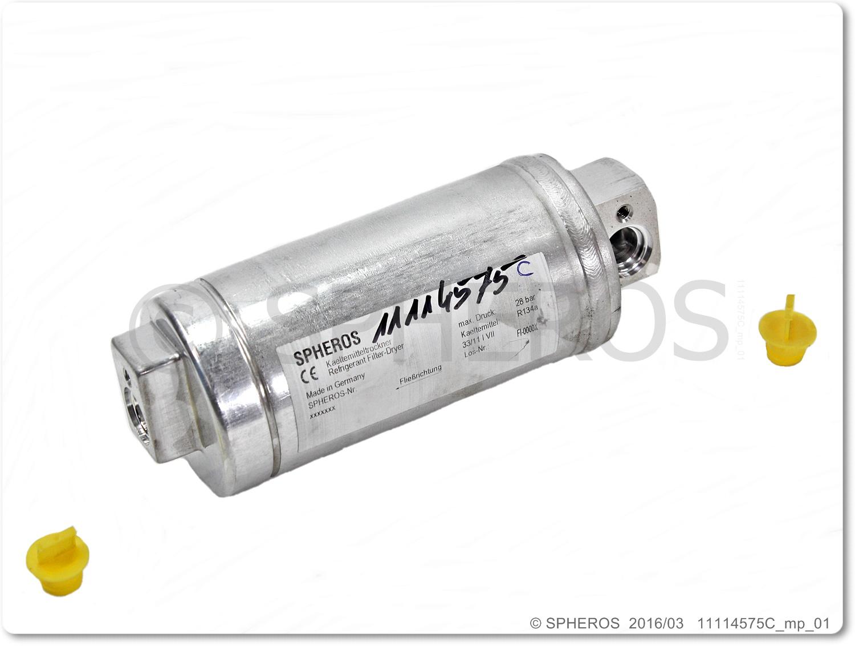 Φιλτροξυραντήρας R134A Αλουμινίου O'RING